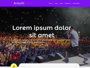 Acoustic Premium WordPress Theme