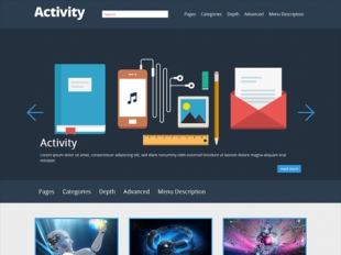 Activity Premium WordPress Theme