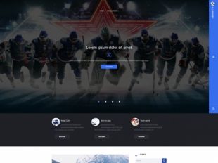 AllHockey Premium WordPress Theme