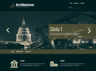 Architecture Premium WordPress Theme