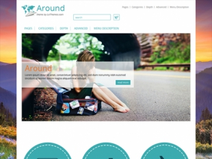 Around Premium WordPress Theme