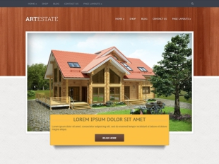 ArtEstate Premium WordPress Theme
