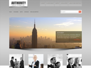 Authority Premium WordPress Theme