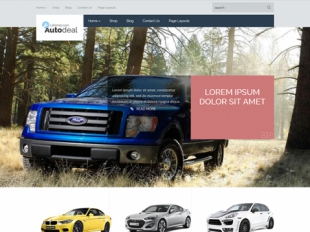 AutoDeal Premium WordPress Theme