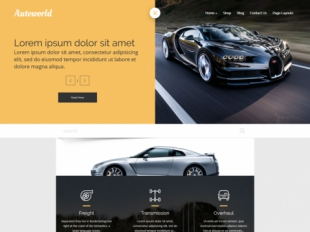 AutoWorld Premium WordPress Theme