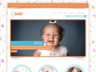 Baby Premium WordPress Theme