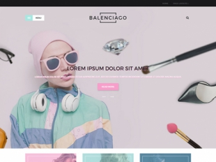 Balenciago Premium WordPress Theme