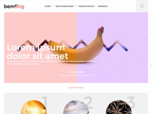 Bending Premium WordPress Theme