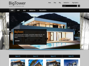 BigTower Premium WordPress Theme