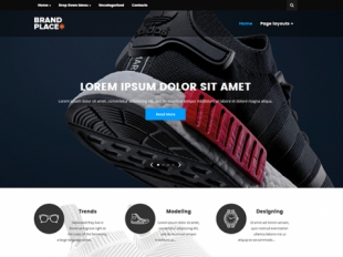 BrandPlace Premium WordPress Theme