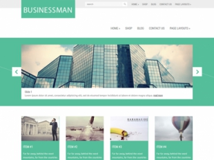 Businessman Premium WordPress Theme