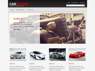 CarDealer Premium WordPress Theme