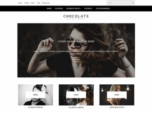 Chocolate Premium WordPress Theme