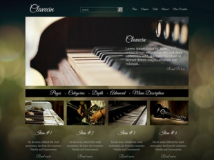 Clavecin Premium WordPress Theme