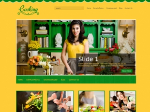 Cooking Premium WordPress Theme