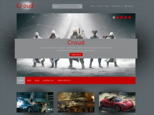 Croud Premium WordPress Theme