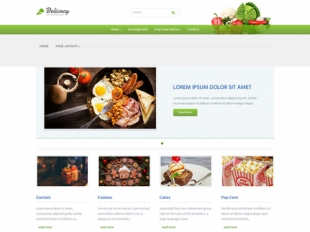 Delicacy Premium WordPress Theme