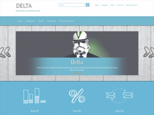 Delta Premium WordPress Theme
