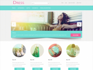 Dress Premium WordPress Theme