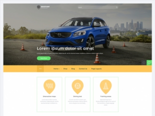 DrivePoint Premium WordPress Theme