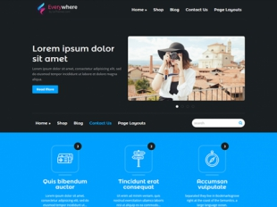 EveryWhere Premium WordPress Theme
