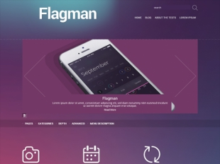 Flagman Premium WordPress Theme