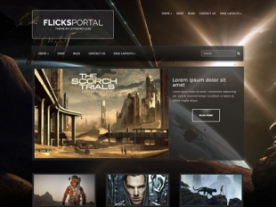 FlicksPortal Premium WordPress Theme