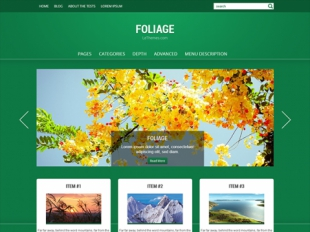 Foliage Premium WordPress Theme