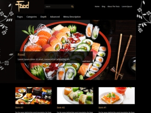 Food Premium WordPress Theme