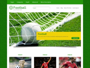 Football Premium WordPress Theme