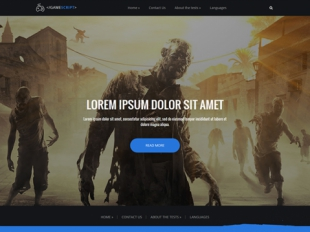 GameScript Premium WordPress Theme