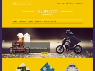 Geometry Premium WordPress Theme