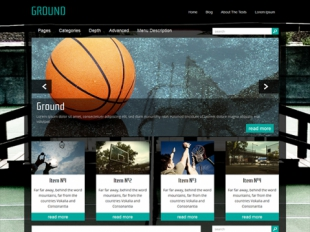Ground Premium WordPress Theme