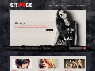 Grunge Premium WordPress Theme