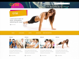 Gym Premium WordPress Theme