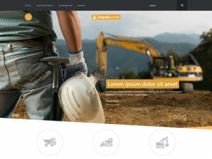HardWork Premium WordPress Theme
