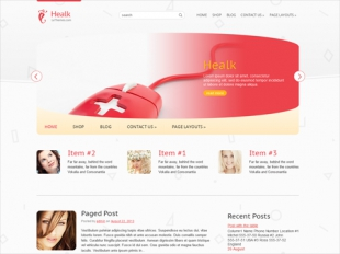 Healk Premium WordPress Theme