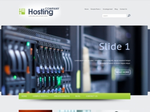 HostingCompany Premium WordPress Theme