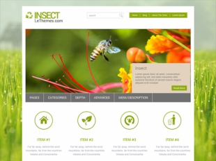 Insect Premium WordPress Theme