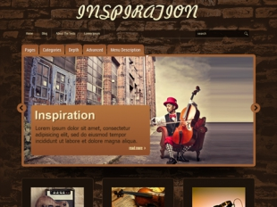 Inspiration Premium WordPress Theme