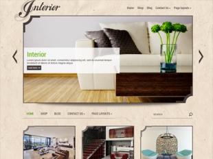 Interior Premium WordPress Theme