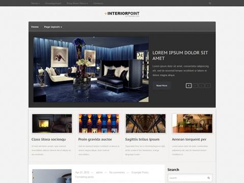 InteriorPoint Premium WordPress Theme