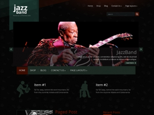 JazzBand Premium WordPress Theme