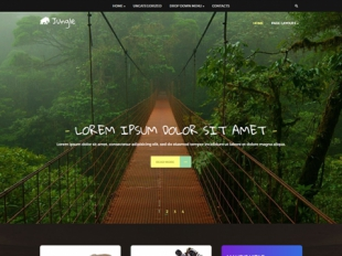 Jungle Premium WordPress Theme