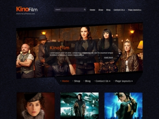 KinoFilm Premium WordPress Theme