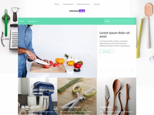 KitchenApp Premium WordPress Theme