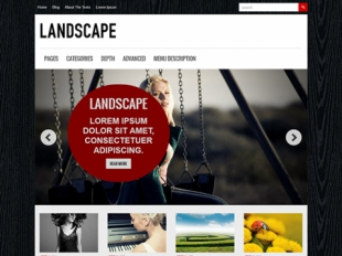 Landscape Premium WordPress Theme