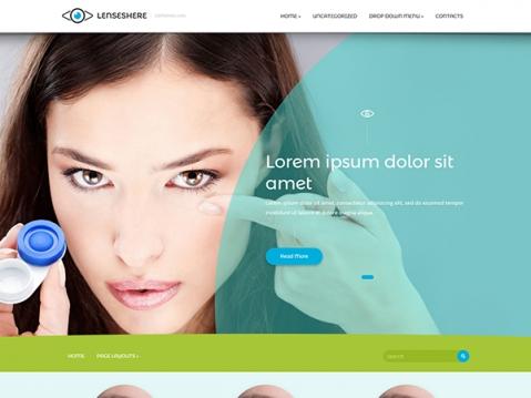 LensesHere Premium WordPress Theme
