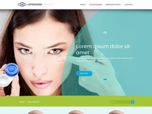 LensesHere Premium WordPress Theme