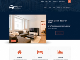 LifePalace Premium WordPress Theme